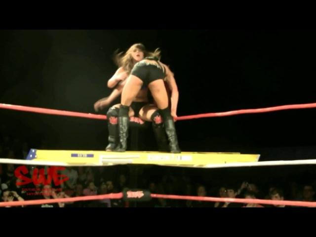Nixon hits the Welsh destroyer on Kay Lee Ray off a ladder !