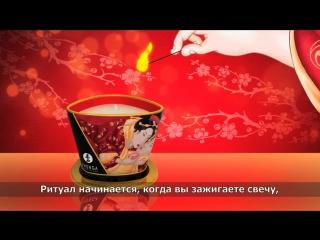 """Массажные свечи от Shunga только в магазине """"ИНТИМ""""! #релакс#массаж#интим56#секс#любовь"""