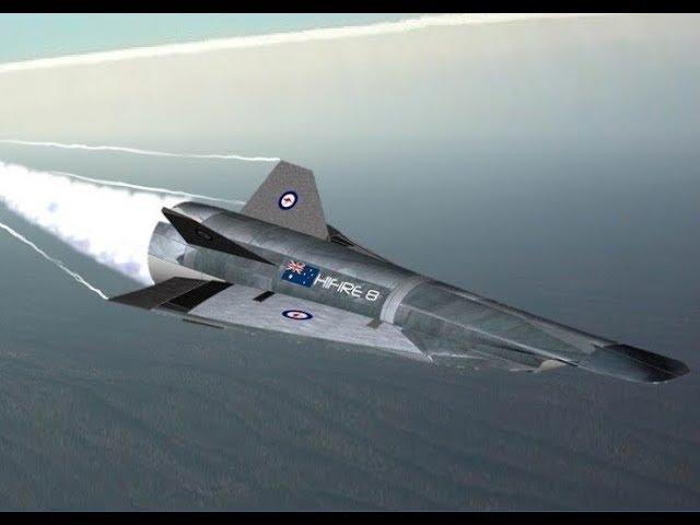 Scramjet Mach 8 success with Australia USA collaboration 2017