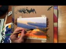 Painting a Dramatic Sky by KEN HOBSON