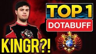 KingR?! TOP 1 Dotabuff Rubick - Amazing Gameplay Dota 2