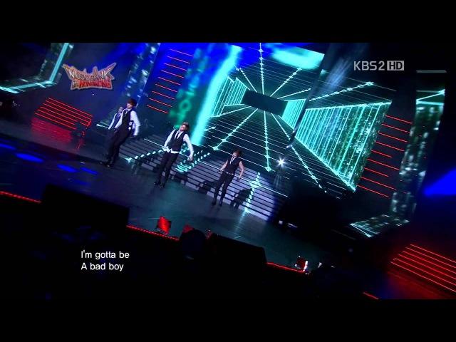 MBLAQ IU Rainism 120706 KBS Music Bank In Hongkong