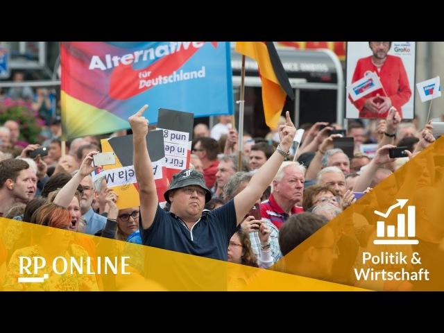 Merkel erntet Beschimpfungen bei Wahlkampfauftritten in Sachsen und Thüringen