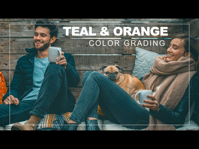 1-Click Teal and Yellow Color Grading Effect in Photoshop With Free Camera Raw Lightroom Preset