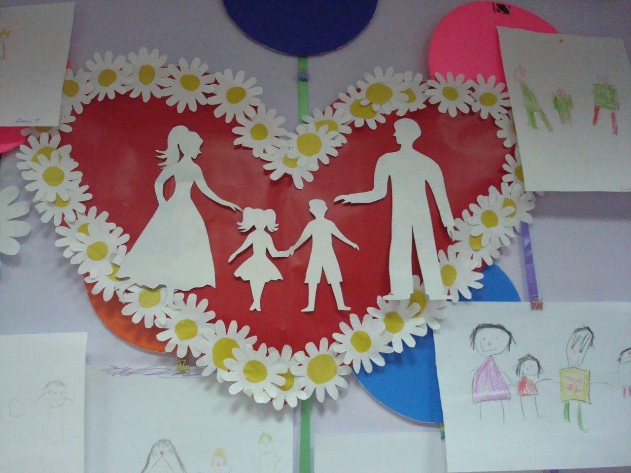 открытка ко дню семьи своими руками мастер класс