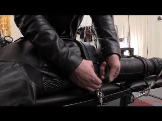 #ГейХран. Сделать из тебя кожаного раба. Часть 2 из 2. A_Long_Journey Гей порно БДСМ бондаж bondage BDSM gay porn slave leather
