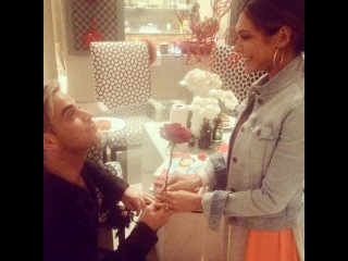 Ayda Field Williams on Instagram: #fb Valentine's Day 2014. @robbiewilliams. Thank you for giving me the final rose:) I love you with all my heart...