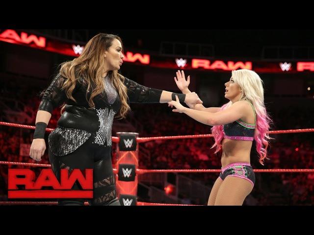 Nia Jax vs. Alexa Bliss: Raw Sept. 18 2017