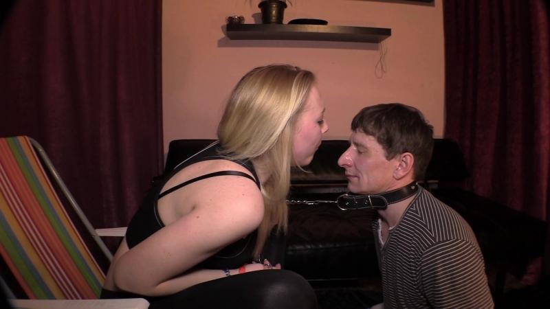 Beautiful Girls Eva spitting boot fetish femdom russian