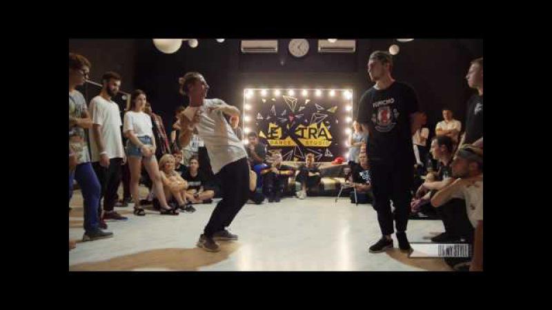Edeek vs Panayot I 1 8 I Electro Dance Oh My Style Return 22 23 июля 2017