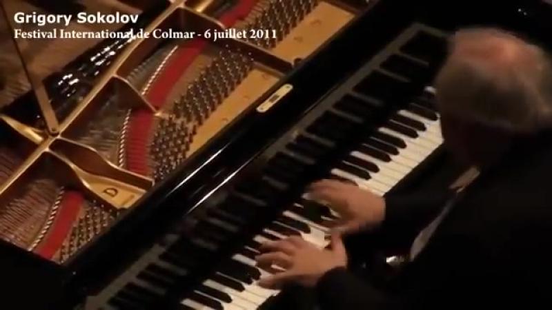 J.S.Bach - French Ouverture [Partita Nr. VII] exerpt - Grigory Sokolov