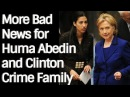 F0X NEW$: More Bad News for Huma Abedin and C|inton CR|ME FAM|LY
