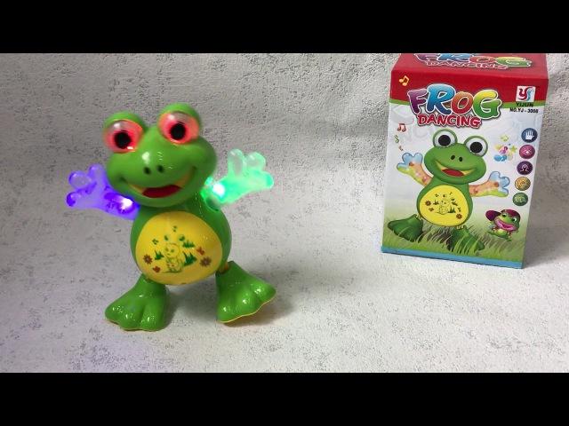 Игрушка Танцующая Лягушка