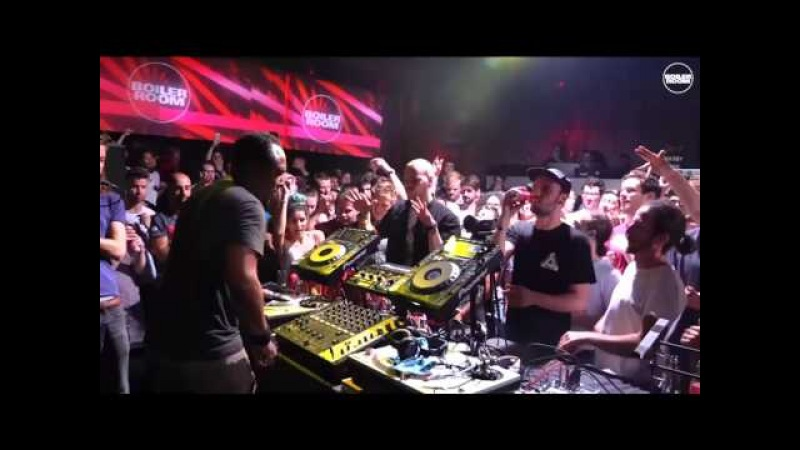 Derrick May vs Karim Sahraoui Boiler Room x Budweiser Brussels | DJ Set