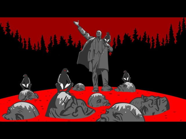 АнимациЯ Ильич столетию революции посвящается