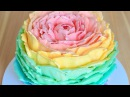 ТОРТ Роза ☆ Радужный CandyBar ☆ Rainbow Rose Cake