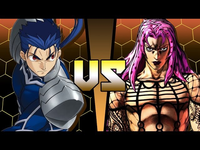 Lancer Fate Stay Night vs Diavolo Jojo s Bizarre Adventure ANIME BATTLE COLISEUM