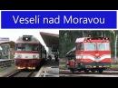Vlaky Veselí nad Moravou 30 7 2013