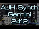 AJH Synth - Gemini 2412 Dual Vintage State Variable Filters