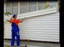 Отделка стены виниловым сайдингом правильный монтаж установка монтаж сайдин