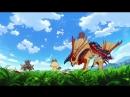 Истории охотников за монстрами 62 серия Русская озвучка Monster Hunter Stories Ride On 62