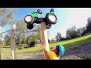 BAD BABY accident Ride on Bicycle Power Wheel Tractor Stuck in the Mud Pit First Race