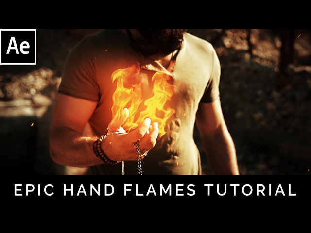 Epic Scifi Hand Flames After Effects Tutorial
