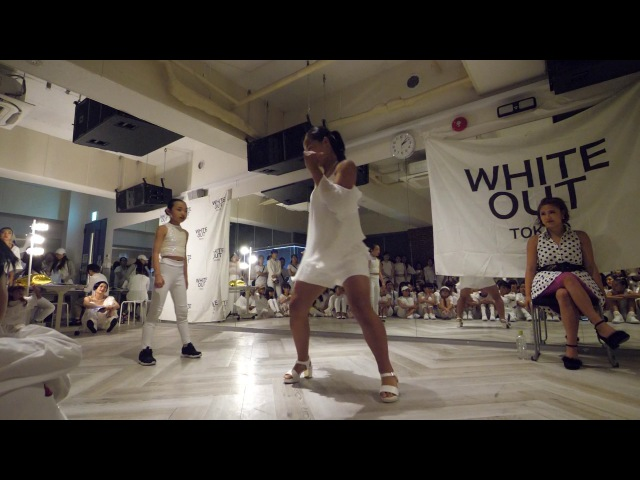 つくし vs CONO EX BEST8 WHITE OUT TOKYO vol 4 WAACKIN DANCE BATTLE