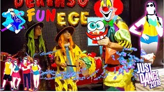 Fun kids videos - Happy Birthday Party - Funny Clown For Children - Funny Costume - Just Dance 2018