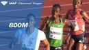 Caster Semenya Wins Women's 800m Women IAAF Diamond League Oslo 2018