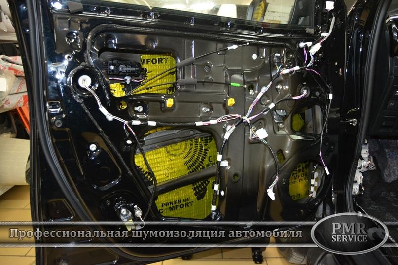 Шумоизоляция Toyota Hilux, изображение №5