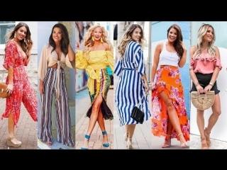 2018 summer fashion lookbook outfit ideas