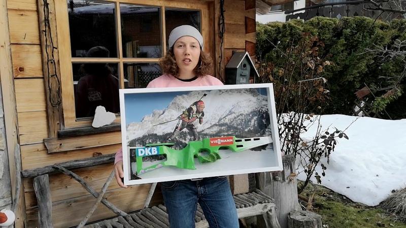 Лаура Дальмайер продает с аукциона часть своей золотой винтовки ЧМ-2017