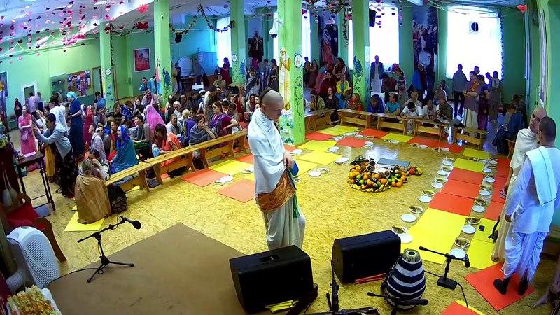 Фестиваль Индрадьюмна Свами инициация концертная программа Восскресная Программа 06 05 2018