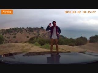 Видеорегистратор xiaomi с adas и wifi -
