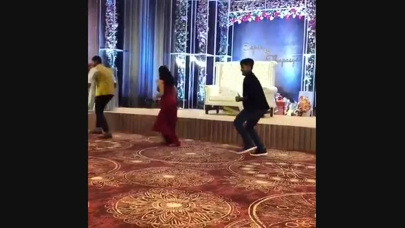 Waah what a graceful dance baap Swag lady @i nivethathomas