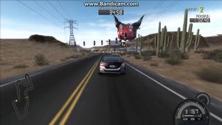 Need for Speed: ProStreet Каньон тайматтак на Honda Civic SI