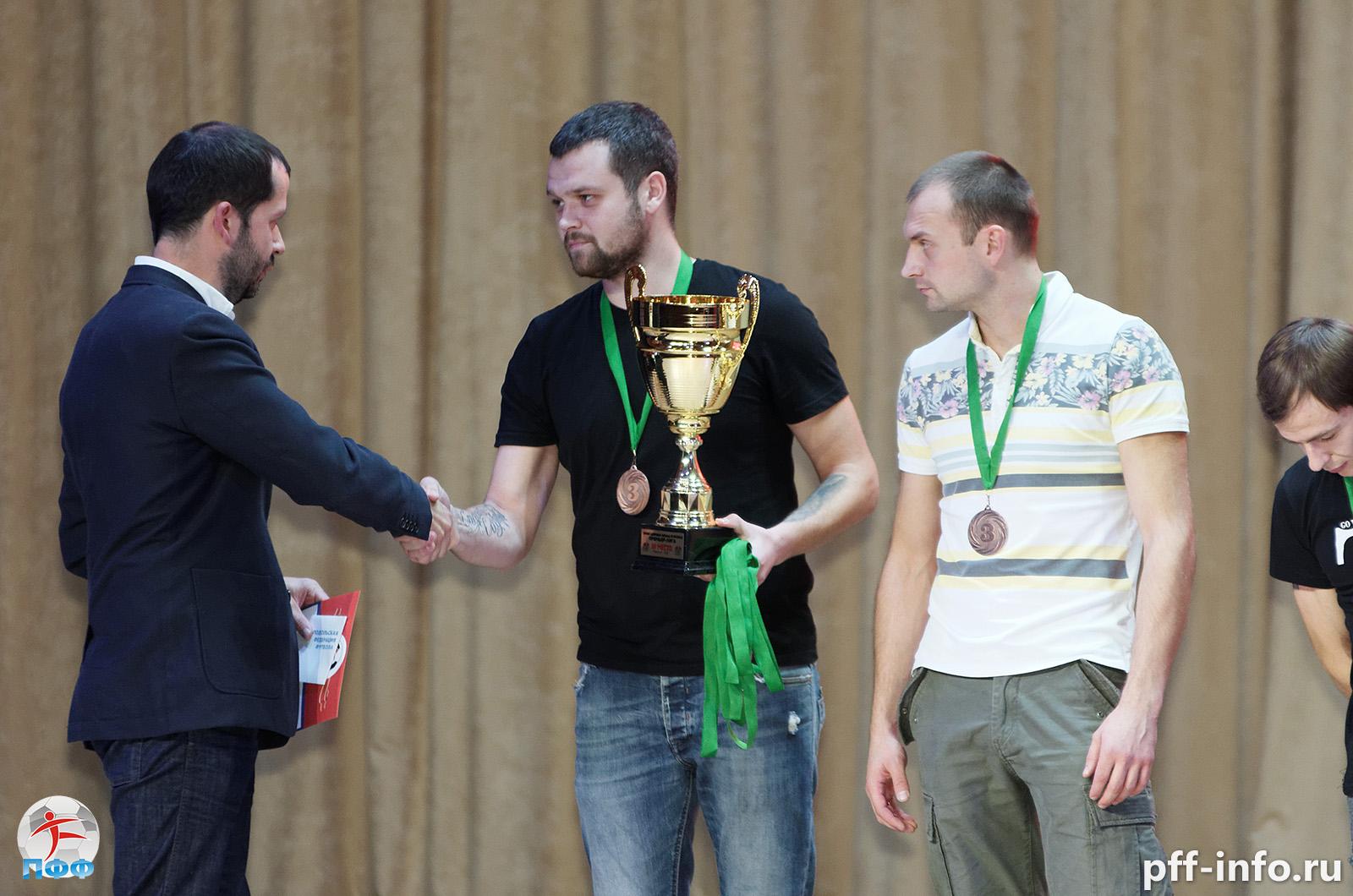 Футбольные номинации, шоу, розыгрыши призов: 25 октября в Подольске подведут итоги сезона