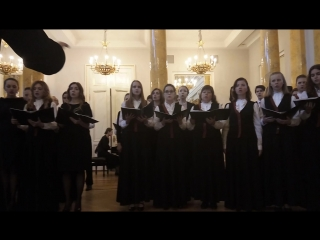"Хор СПбГАСУ. Моцарт, №8 из реквиема ""Lacrimosa"""