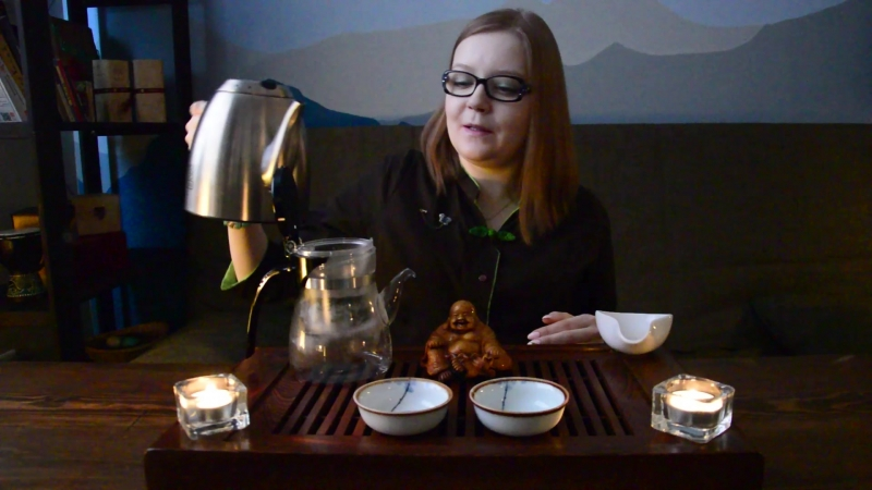 Заваривание чая в Типоте Sama Doyo