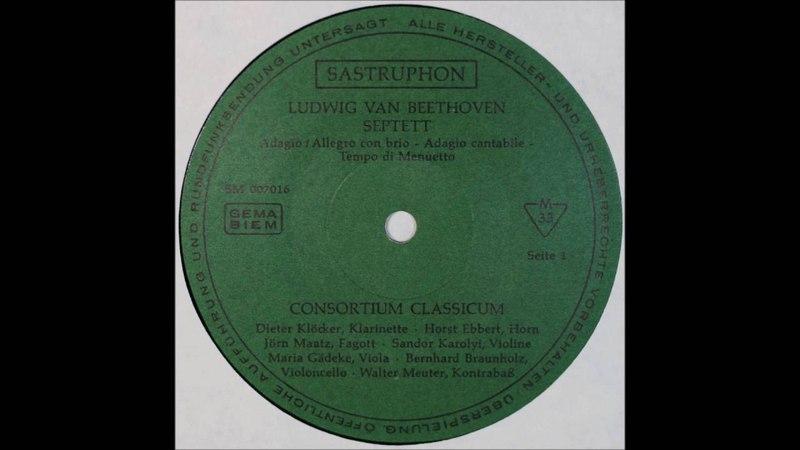 Beethoven Septett Es Dur Op 20 1 2 3MOV Consortium Classicum