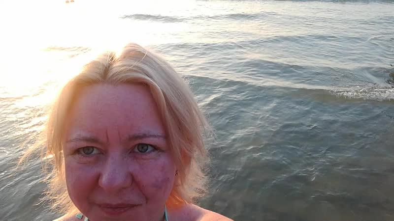 Остров Пхукет страна Таиланд отпуск 07.02.2019 я и закат солнца 13 над пляжем Патонг Бич Адаманское море Индийский океан