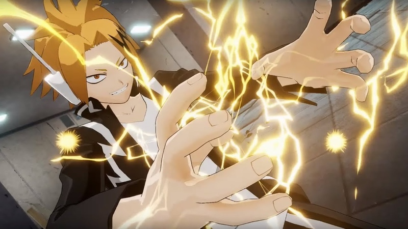My Hero Academia One's Justice Kaminari Bakugo Iida All Might Vs Battles Gameplay