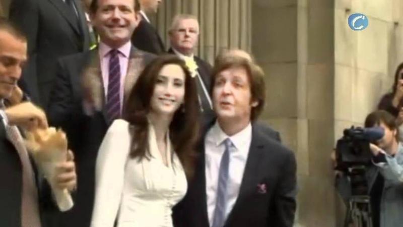 Sir Paul McCartney marries Nancy Shevell