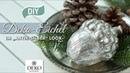 DIY hübsche Deko Eichel im Antik Silber Look selbermachen How to Deko Kitchen