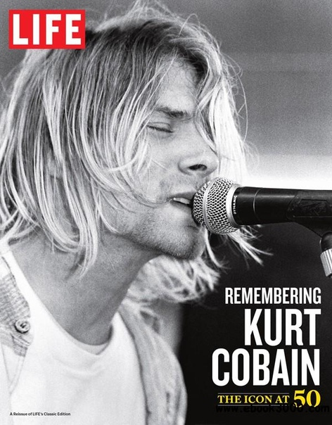 LIFE Remembering Kurt Cobain The Icon at 50