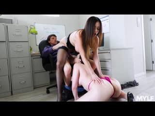 Ariella Ferrera, Dana Dearmond - Executive Office Creampies [MYLF. Big Tits, Blowjob, Milf, Mom, Th