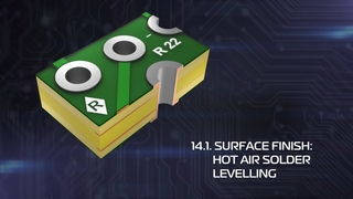 Printed Circuit Boards. 14.1 Surface Finish: Hot Air Solder Levelling