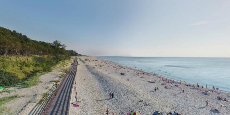 Один из лучших пляжей России (Янтарный – Балтийск)