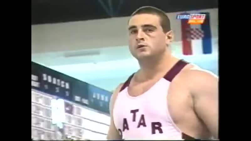Jaber Saeed Salem(Яни Марчоков) 210 KG Snatch Antalya 2001